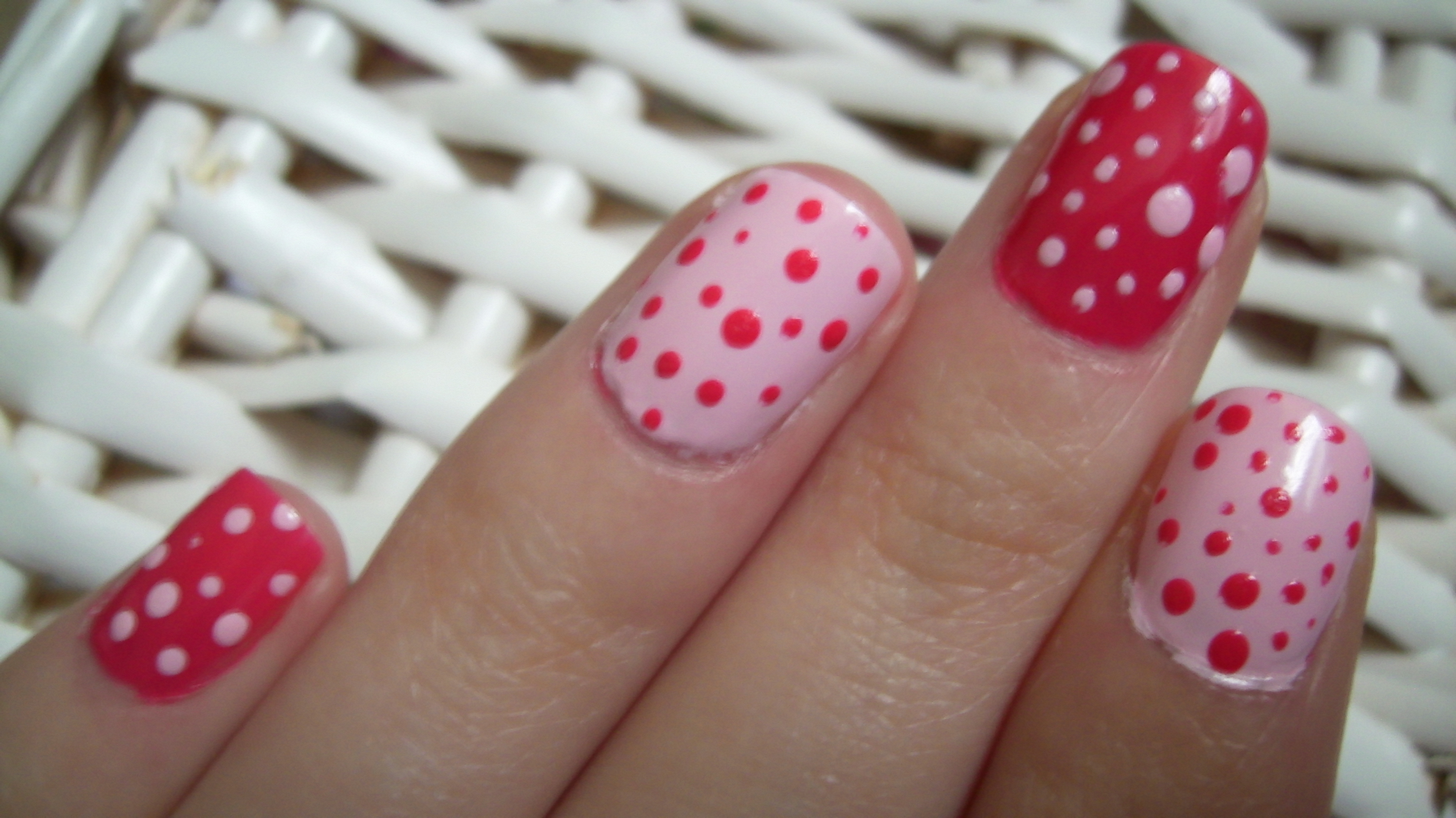 Polka Dot Nail Art My Beauty Notes