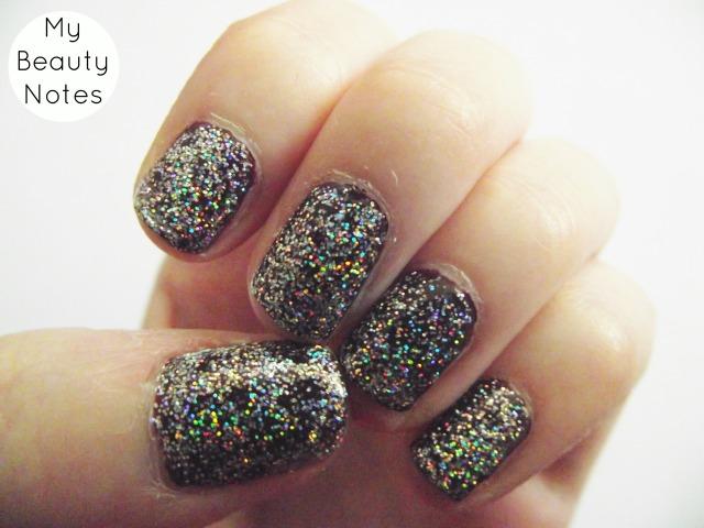 Christmas Glitter nails 3