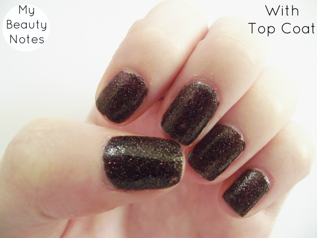 barry m countess textured nail polish with top coat