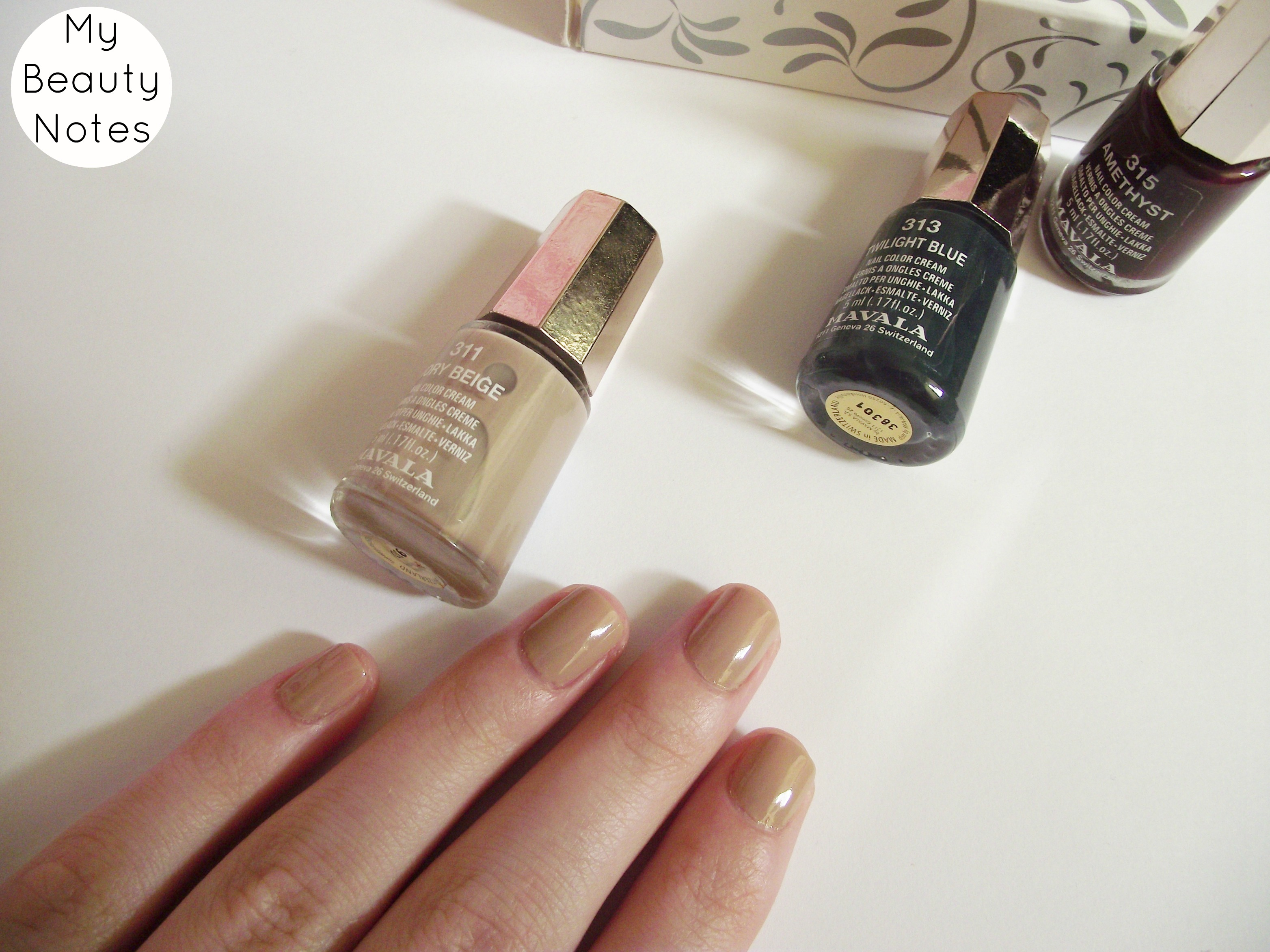 Mavala Sublime Evenings Nail Polish Set* | My Beauty Notes