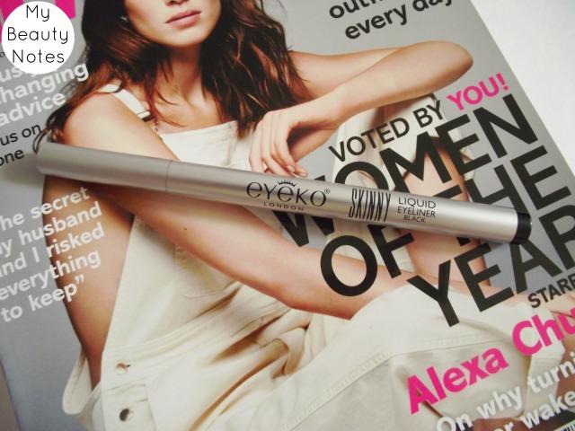 Eyeko Skinny Liner in Black glamour magazine july 2014 felt tip liner alexa chung