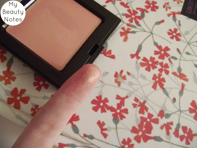 Laura Mercier Sheer Cheek Colour Golden Pink Swatch shimmer 2014 summer collection