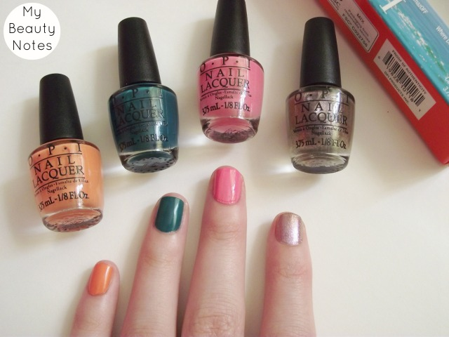 OPI Brazil Collection next stop the bikini zone kiss me i'm brazilian amazon amazoff where did sizu go