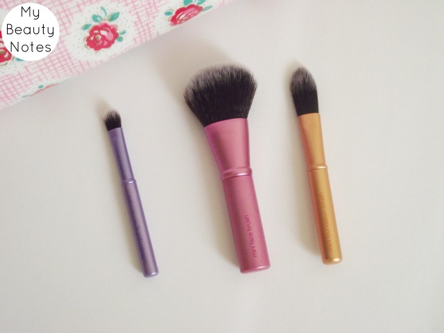 Real Techniques Mini Brush Set my beauty notes blog review uk makeup brushes