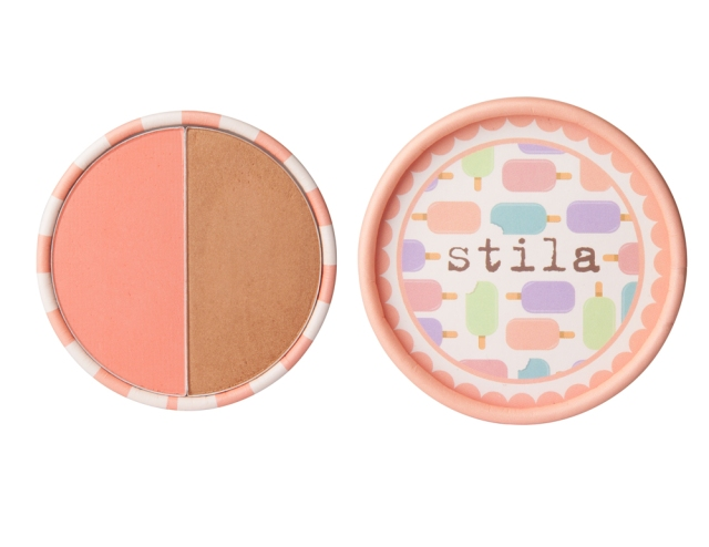 stila ice cream collection blusher and bronzer duo creamsicle peach my beauty notes blog