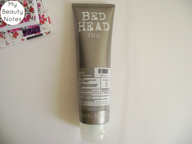 Tigi Reboot Shampoo Scalp Level 0 My Beauty Notes Blog Review