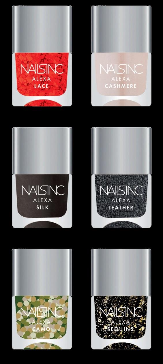 alexa chung nail polishes