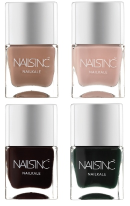 kale nail polishes