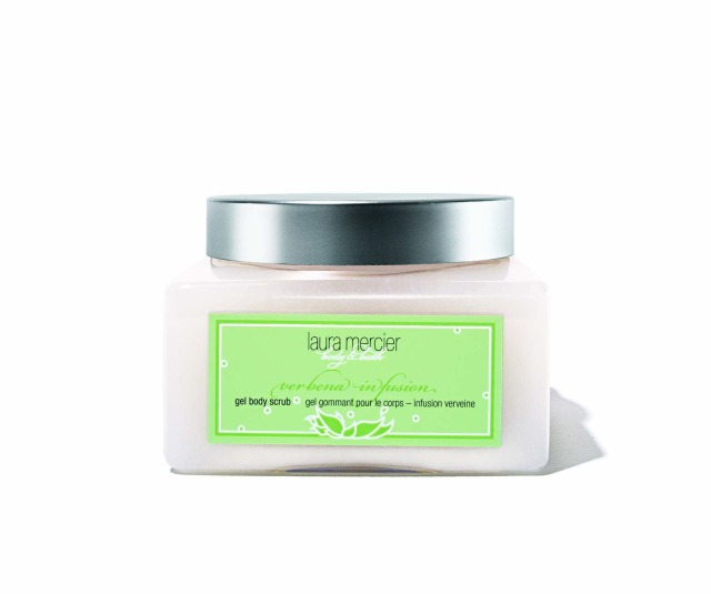 Laura Mercier Verbena Gel Body Scrub cropped