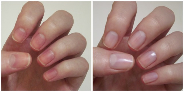 nails inc nailkale bright street illuminator before and after pictures swatch my beauty notes blog