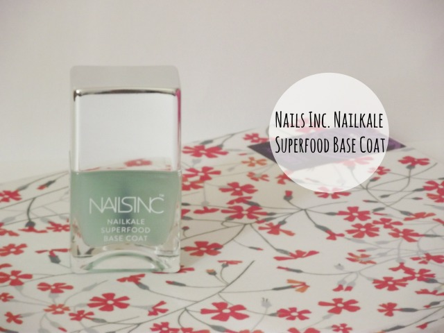 nails inc nailkale superfood base coat alexa chung 2014 autumn