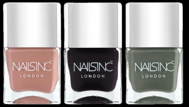 nails inc trend colours
