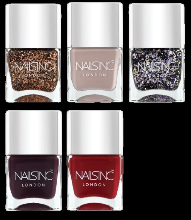 nails inc trend winter colours