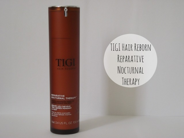 tigi nocturnal hair treatment overnight hair treatment