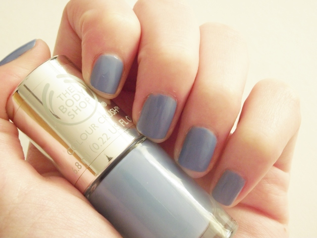 The Body Shop Colour Crush Got The Blues Nail Polish