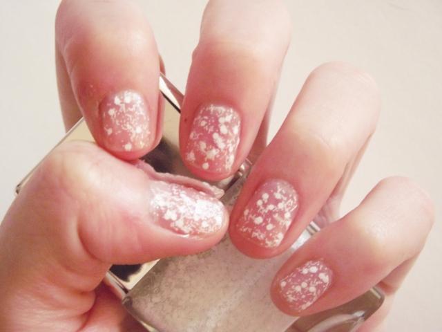 Nails Inc. Snowflake Polish Kensington Church Street